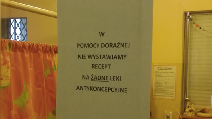"""""""W pomocy doraźnej nie wystawiamy recept na leki antykoncepcyjne"""". Będzie skarga do NFZ"""