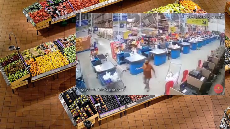 W supermarkecie zawaliły się regały. Osiem osób rannych, jedna osoba zginęła [WIDEO]