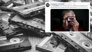 Zmarł wynalazca kasety magnetofonowej