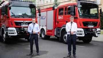 Wozy strażackie za najwyższą frekwencję. Wiadomo, do których gmin trafią
