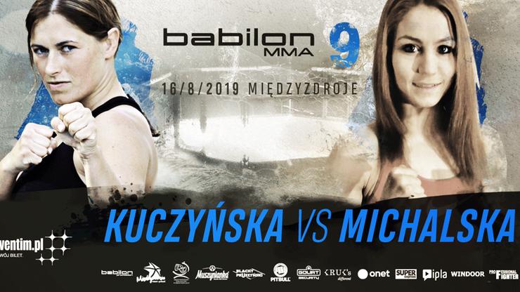 Babilon MMA 9. Kuczyńska: Na plaży w Międzyzdrojach jeszcze nie używałam siły
