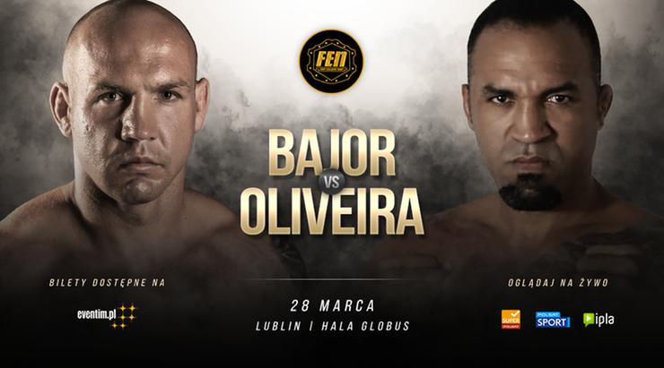 FEN 28: Oliveira stanie na drodze Bajora w walce o historyczny pas