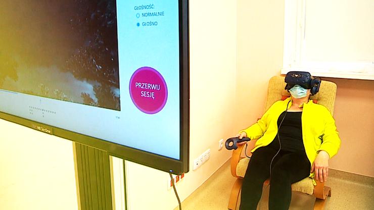 Jak leczyć powikłania po Covid-19? Jedną z technik jest wirtualna rzeczywistość