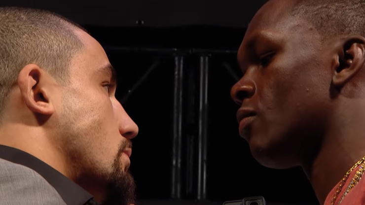 UFC 243: Whittaker - Adesanya. Karta walk