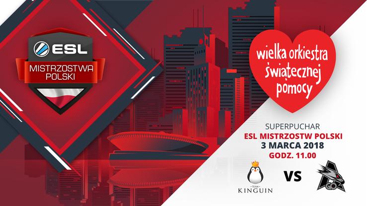 Team Kinguin i AGO Esports zagrają na rzecz WOŚP na głównej scenie IEM Katowice 2018