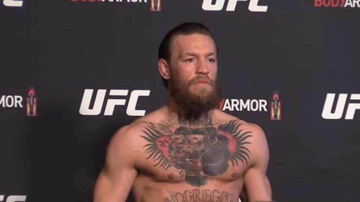 McGregor nokautuje... koronawirusa