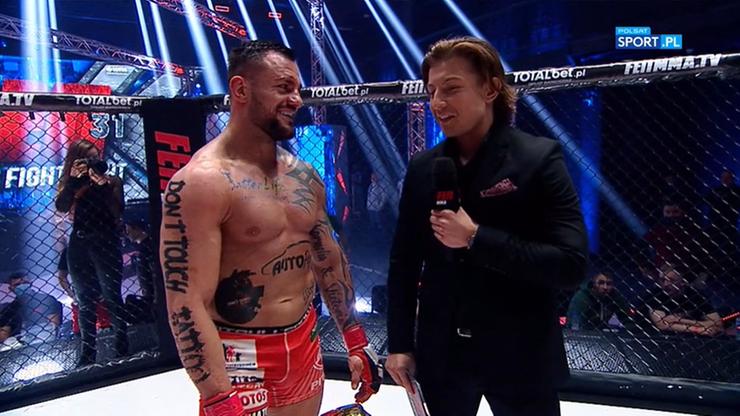 """""""Trybson"""" przeniesie się do innej organizacji MMA? """"Wkrótce coś ogłosimy"""""""