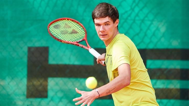 Wimbledon: Wygrane Kamila Majchrzaka i Kacpra Żuka w pierwszej rundzie eliminacji