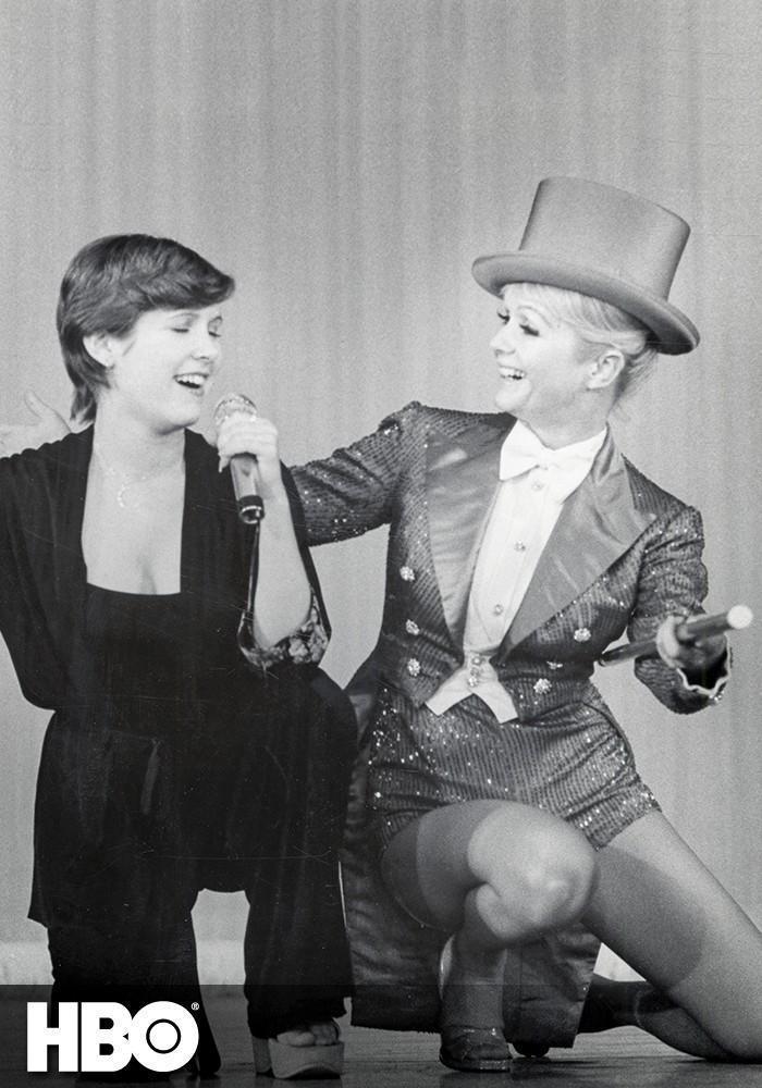 Carrie Fisher i Debbie Reynolds prywatnie