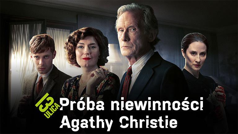 Próba niewinności Agathy Christie