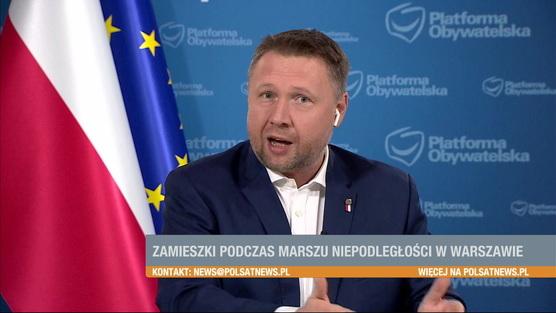 Śniadanie w Polsat News - 15.11.2020