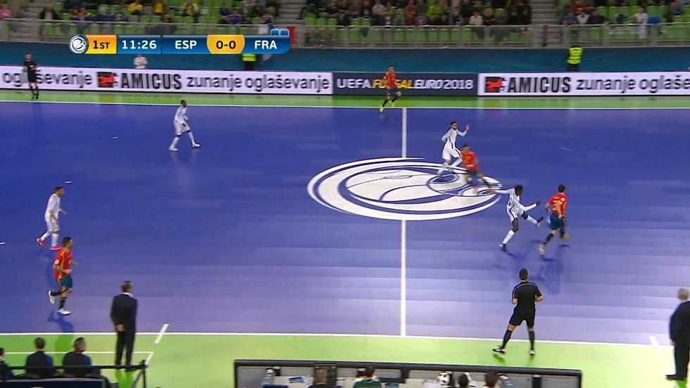 Hiszpania - Francja, skrót meczu