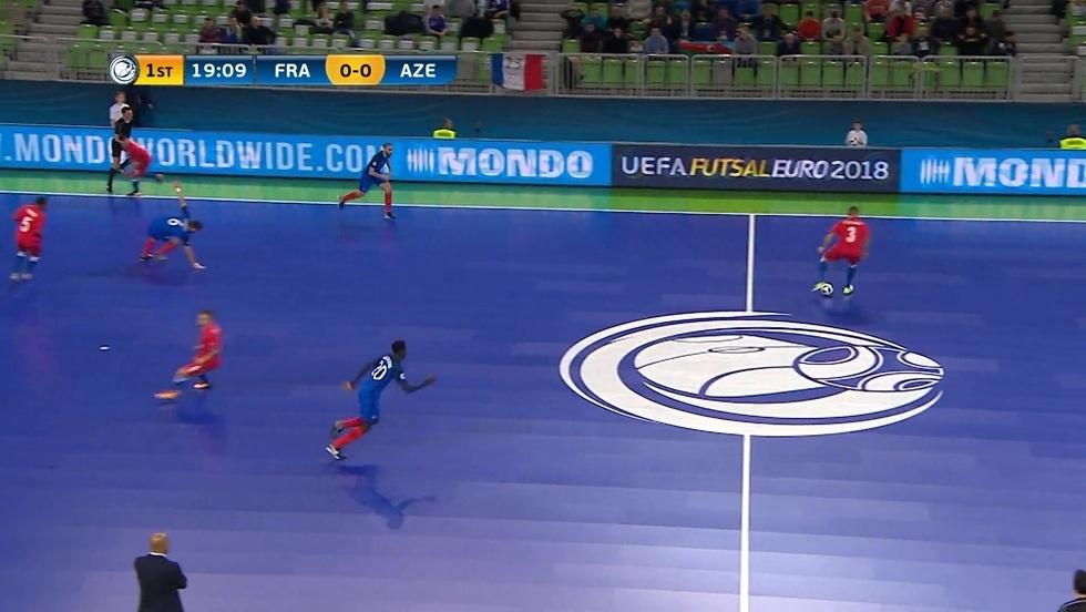 Francja - Azerbejdżan, skrót meczu