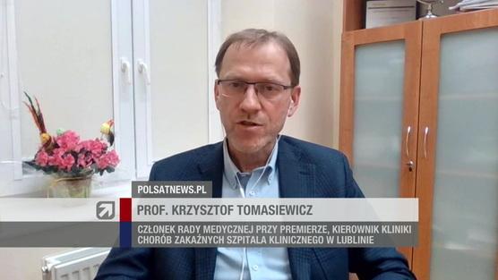 Gość Wydarzeń - Krzysztof Tomasiewicz