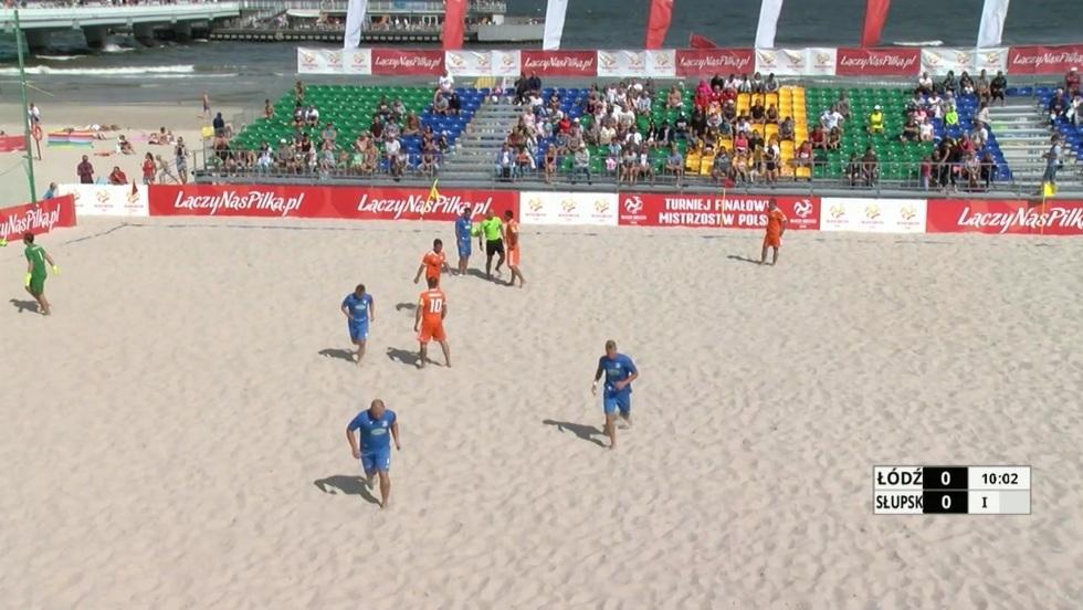Piłka nożna plażowa - mecz o trzecie miejsce mężczyzn