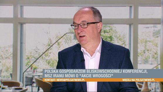Śniadanie w Polsat News - 13.01.2019