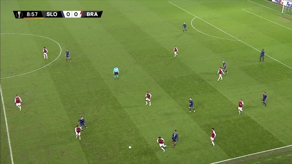 Slovan Bratysława - SC Braga