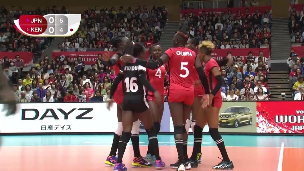 Japonia - Kenia